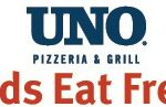 kids eat free at UNOs