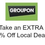 2 days: extra 20% off up to 3 local Groupons