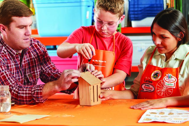 Home Depot Kids Workshops FREE Boston Living on the Cheap