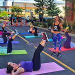 FREE Fitness classes at the Seaport