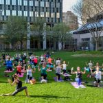 FREE Yoga Classes at the Pru