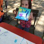 FREE kids open air art studio