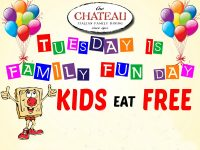 Kids Eat FREE at The Chateau