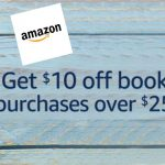 Amazon book deal: Save $10 on $25 purchase