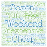 Boston Weekend on the Cheap