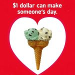 $1 Valentines at Friendly's