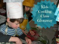 Kids Cooking Class Giveaway