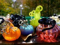 Buy One, Get One: Glass Pumpkins for Halloween