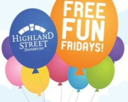 Free Fun Fridays--See what's Free this week