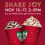 BOGO at Starbucks