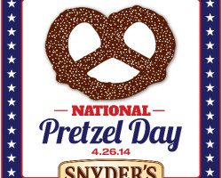 Celebrate National Pretzel Day with FREE samples