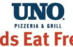 Kids eat FREE at Uno's all summer!